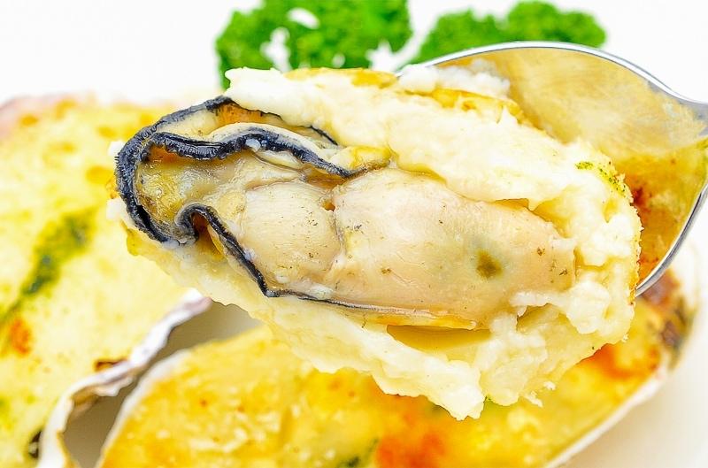 牡蠣グラタンアップ3