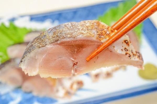 金華サバ炙りしめ鯖3