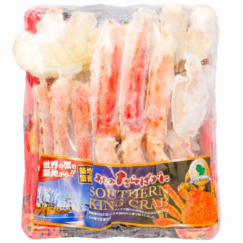 ミナミタラバガニ パッケージ 冷凍1
