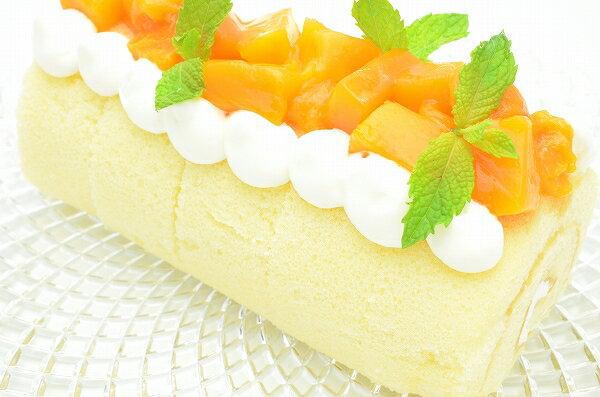 マンゴーロールケーキ1