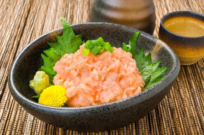 サーモンネギトロ 小鉢