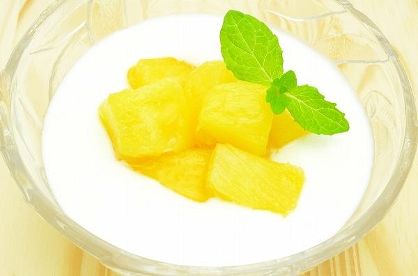 パイナップルヨーグルト2