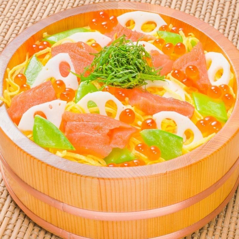サーモンちらし寿司
