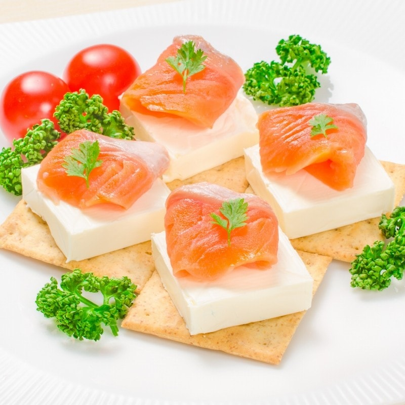 サーモンクリームチーズ