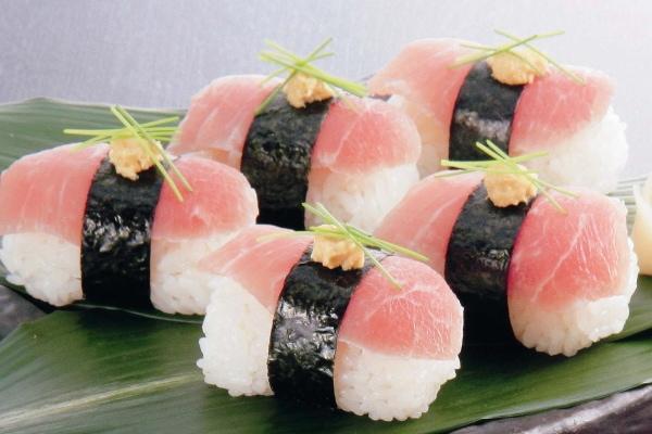 しばれ生ハム寿司