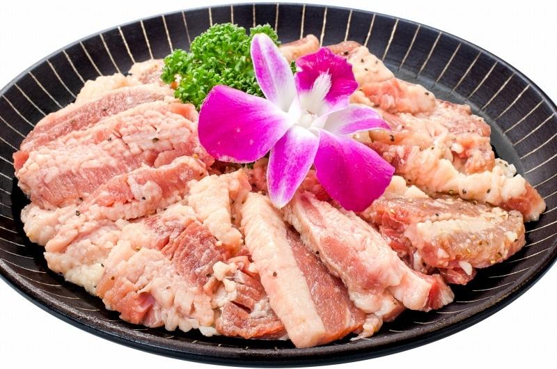 塩ダレ牛カルビ焼肉 5