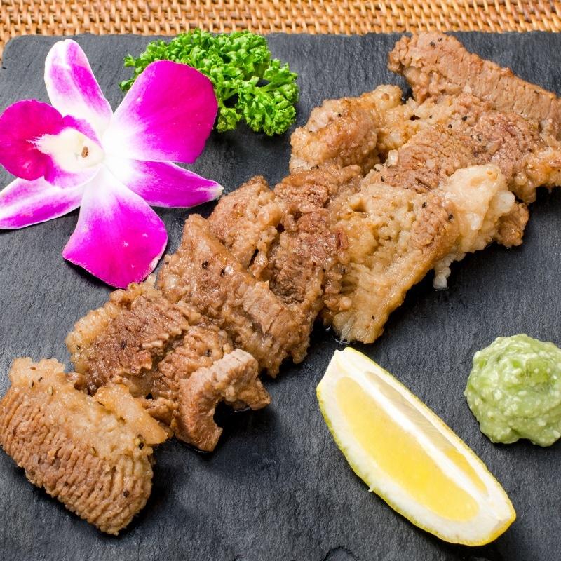 塩ダレ牛カルビ焼肉 10