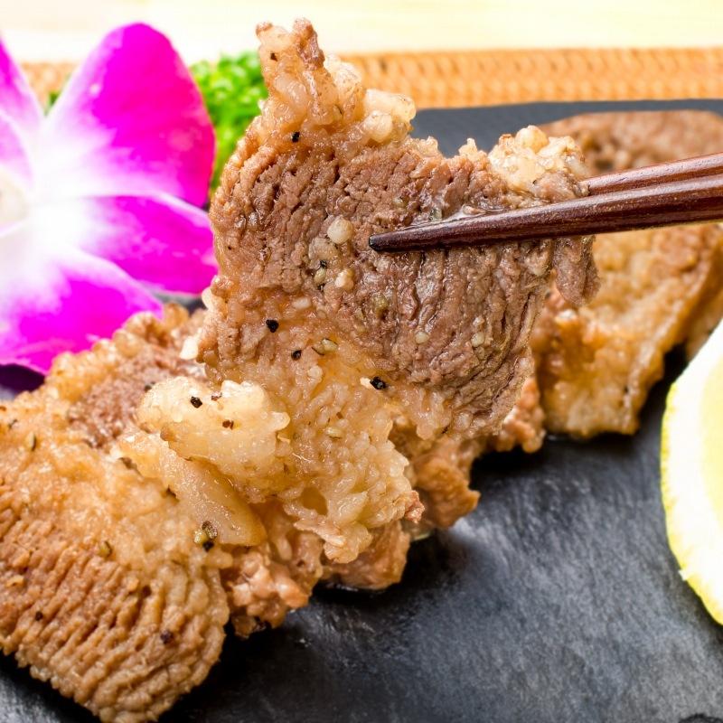 塩ダレ牛カルビ焼肉 11