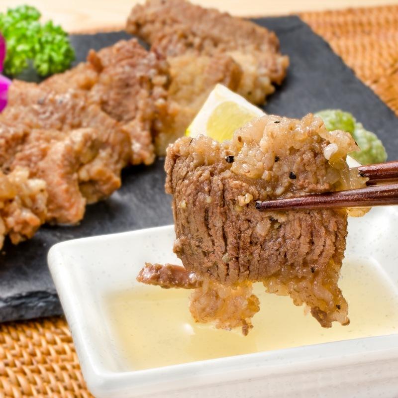 塩ダレ牛カルビ焼肉 12