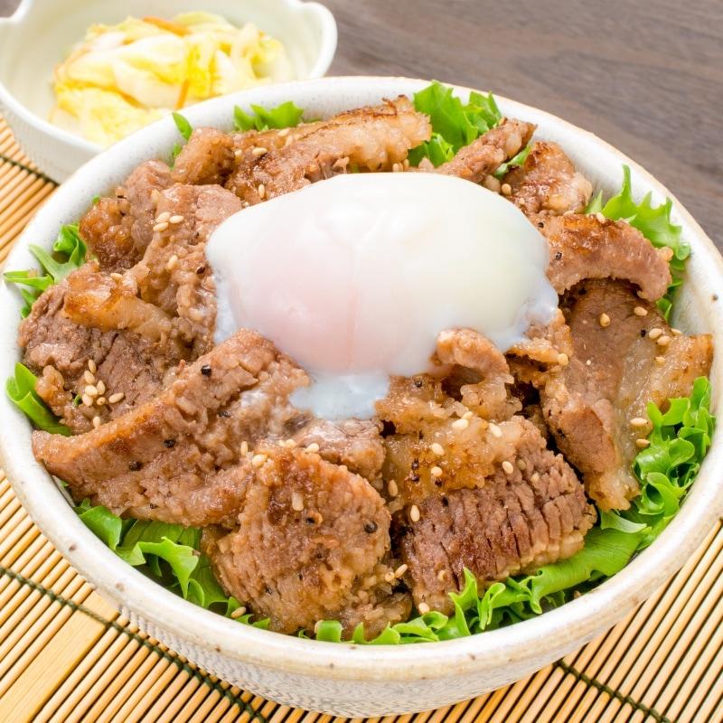 塩ダレ牛カルビ焼肉 15