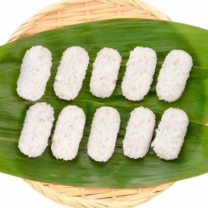寿司しゃり ザル盛り真上