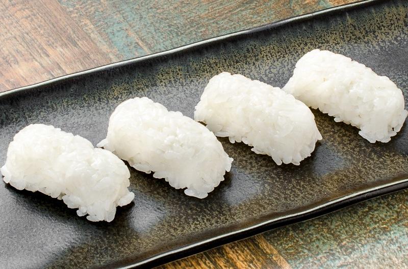 寿司しゃり 黒皿