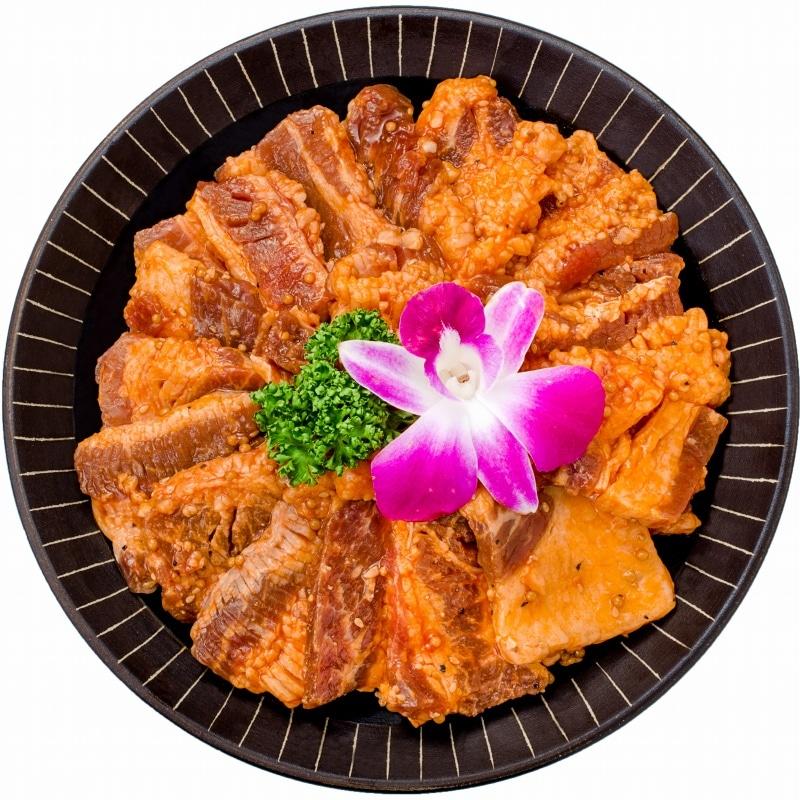 タレ漬け牛カルビ焼肉 4