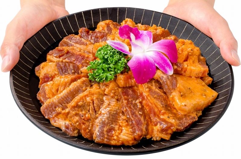 タレ漬け牛カルビ焼肉 6