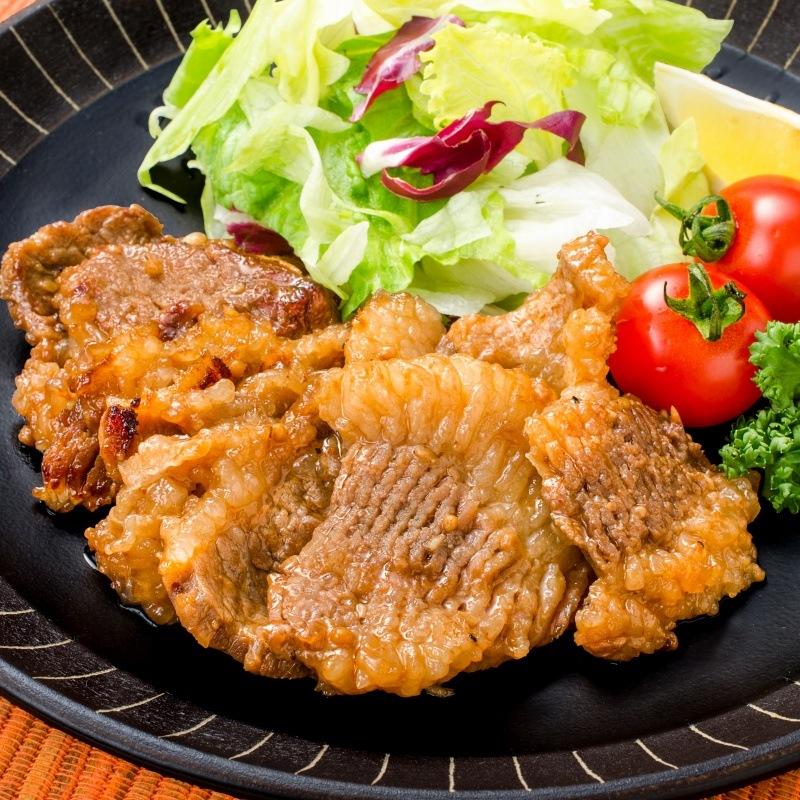 タレ漬け牛カルビ焼肉 11