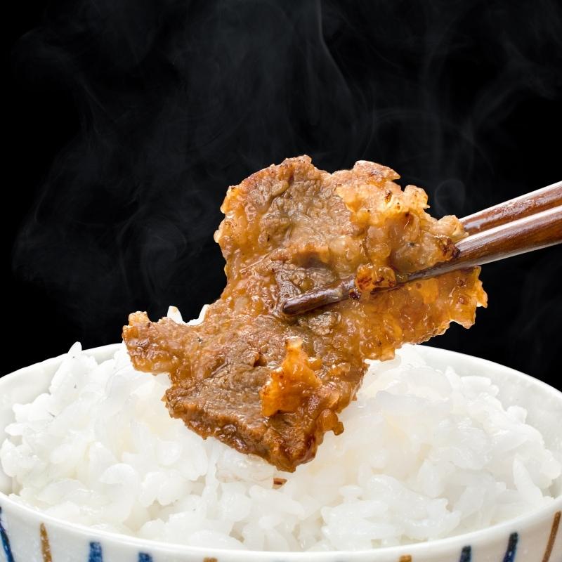 タレ漬け牛カルビ焼肉 14