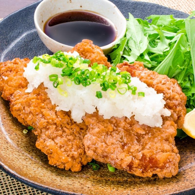 鶏の竜田揚げ和風おろし醤油
