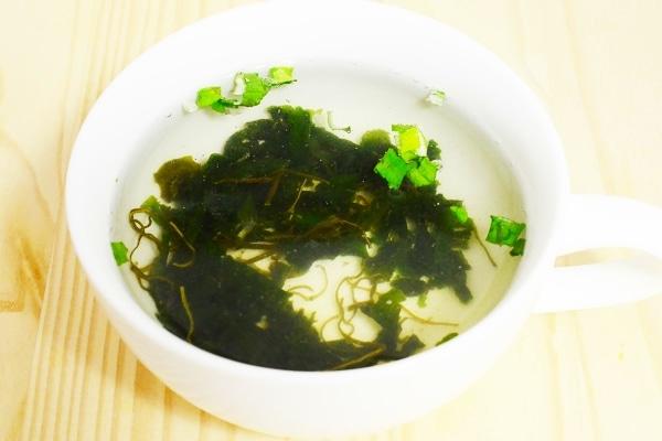 わかめスープ3