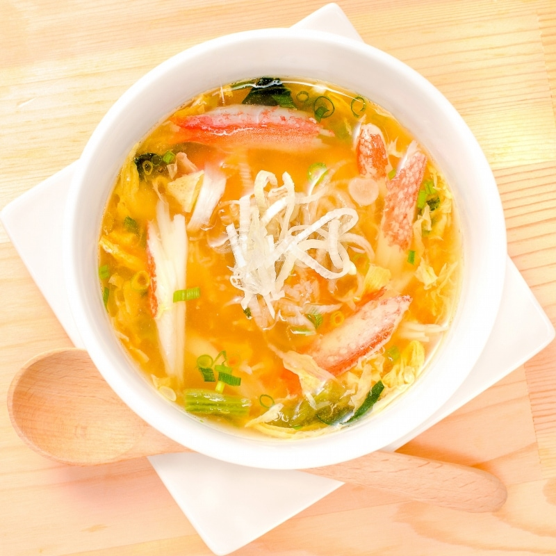 ズワイガニ 棒肉 カニ玉スープ