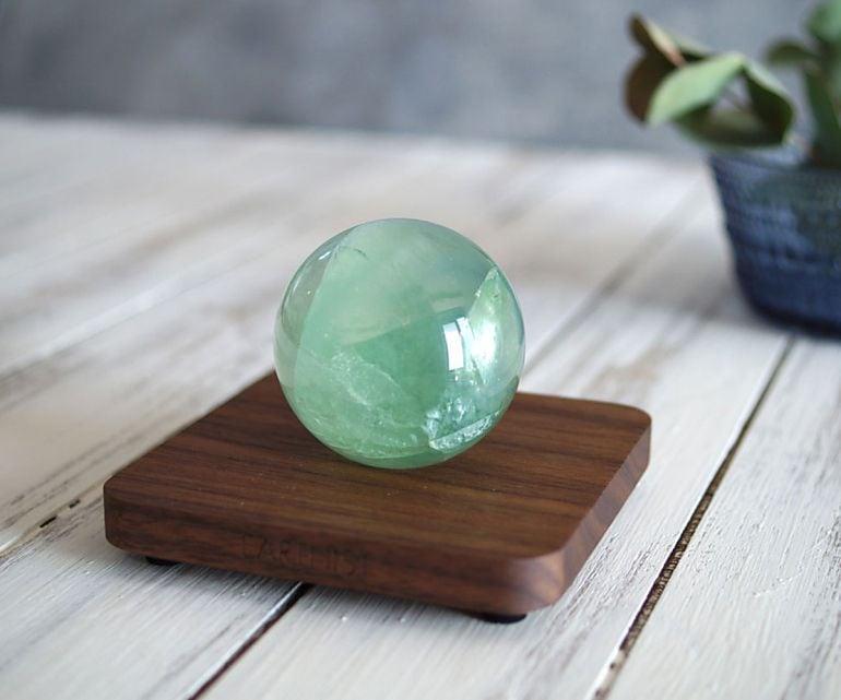 フローライト スフィア - Wood Type1 -