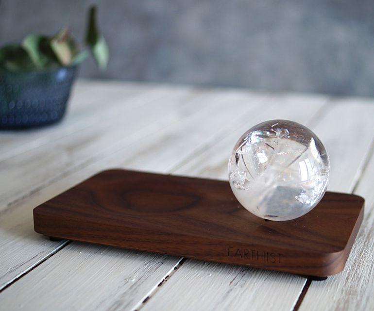 レインボークリスタル スフィア - Wood Type2 -