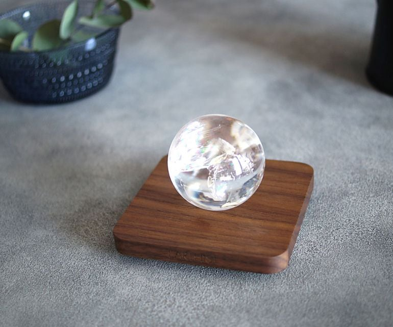 レインボークリスタル スフィア - Wood Type1 -