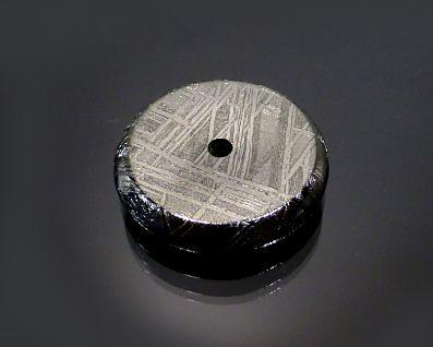 ギベオン隕石 ピーディスク ドーナツ型