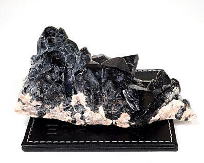 黒水晶 (モリオン) クラスター・原石 No.40