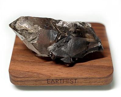 カーボン水晶 (ブラジル産) 原石 No.5