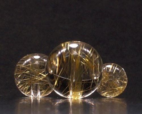 最高級 ゴールドキャッツアイルチル 1粒バラ売り (6mm玉〜12mm玉)