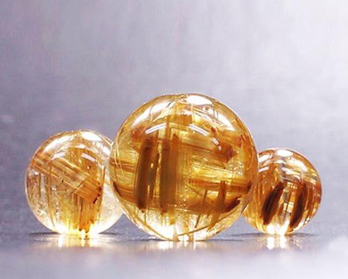 最高級タイチンキャッツアイルチル 1粒バラ売り (6mm玉〜12mm玉)