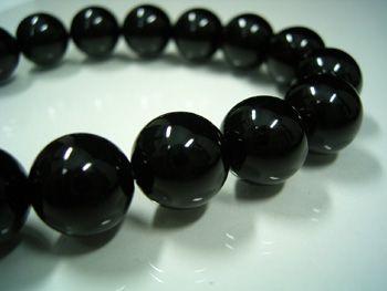 ブラックオニキス12mmブレスレット