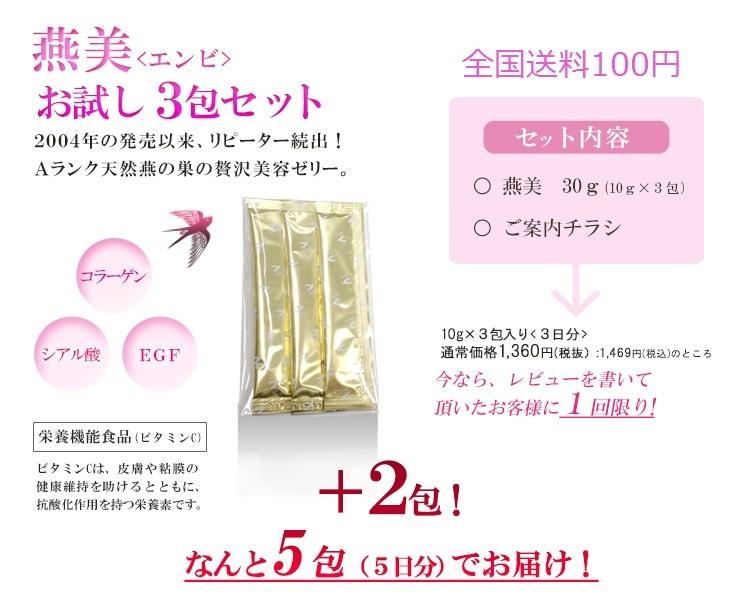 燕美(エンビ)5包セット