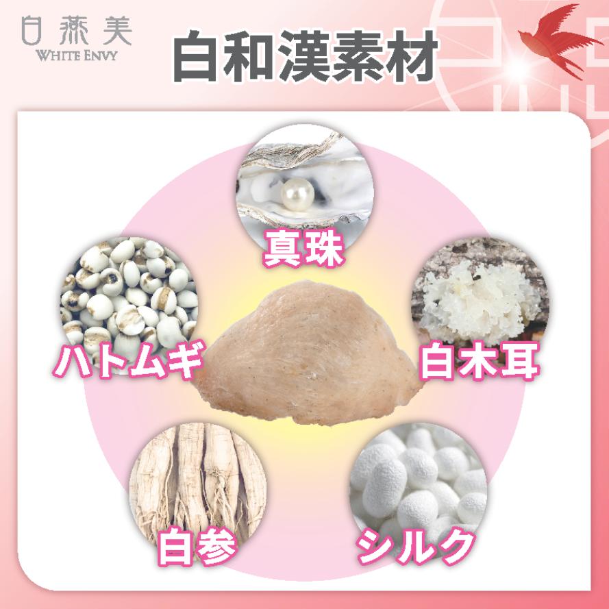 白の和漢素材