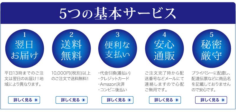 5つの基本サービス