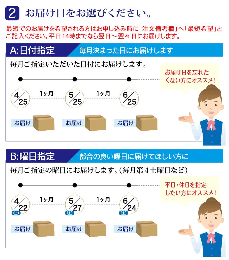 定期1箱コース