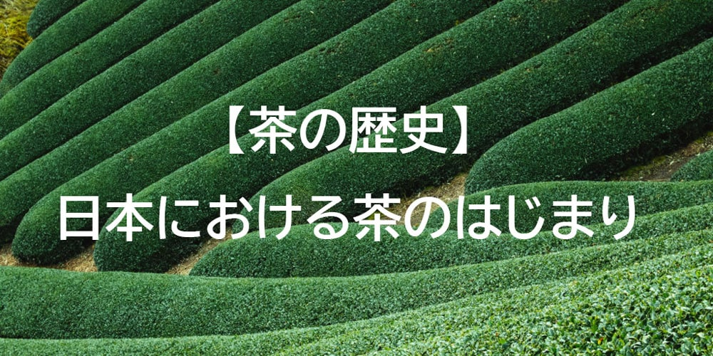 お茶の歴史:日本におけるはじまりは?