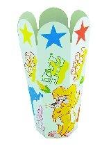 ポップコーンカップ 組立カップ動物