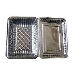 フードパック 透明長方形容器フタ一体型