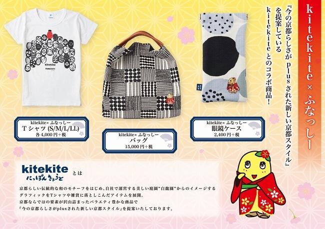 kitekite×ふなっしー