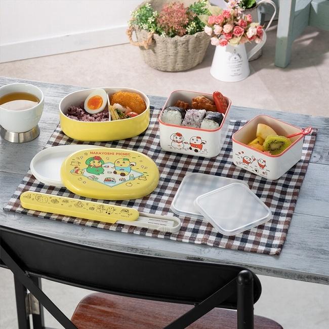 ふなっしーとペアンヌのなかよしピクニック