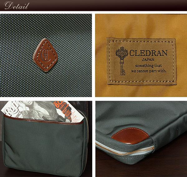 CLEDRAN/クレドラン A4ファイルマルチケース TRAVA/トラヴァ cl-1655 ディテール