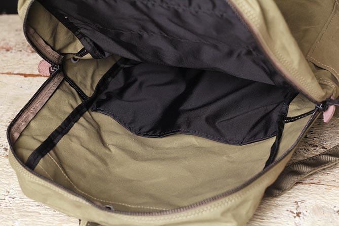 帆布 リュックサック メンズ バギーポート ACR-524 内ポケット