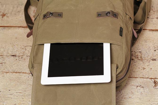 帆布 リュックサック メンズ バギーポート ACR-524 かぶせポケット