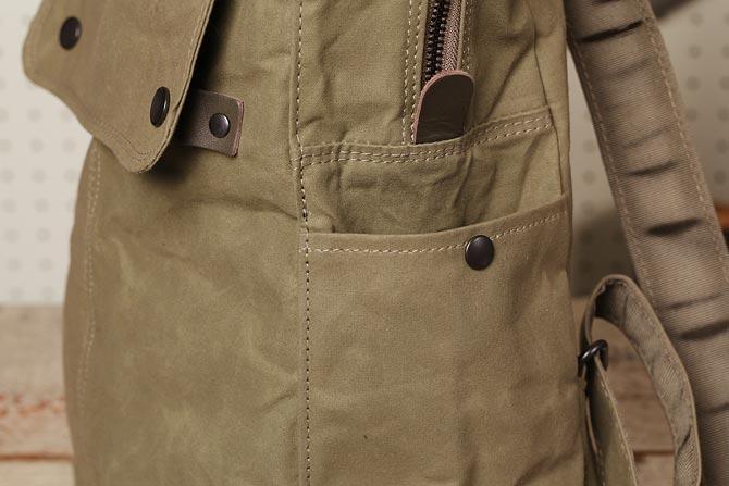 帆布 リュックサック メンズ バギーポート ACR-524 サイドポケット