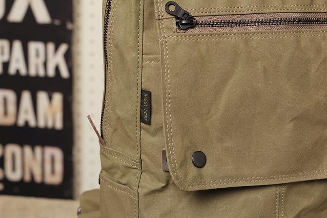 帆布 リュックサック メンズ バギーポート ACR-524 ロゴ