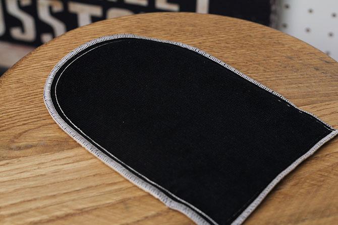HGグローブシャイン 革のお手入れ用 磨きグローブ コロンブス 馬毛