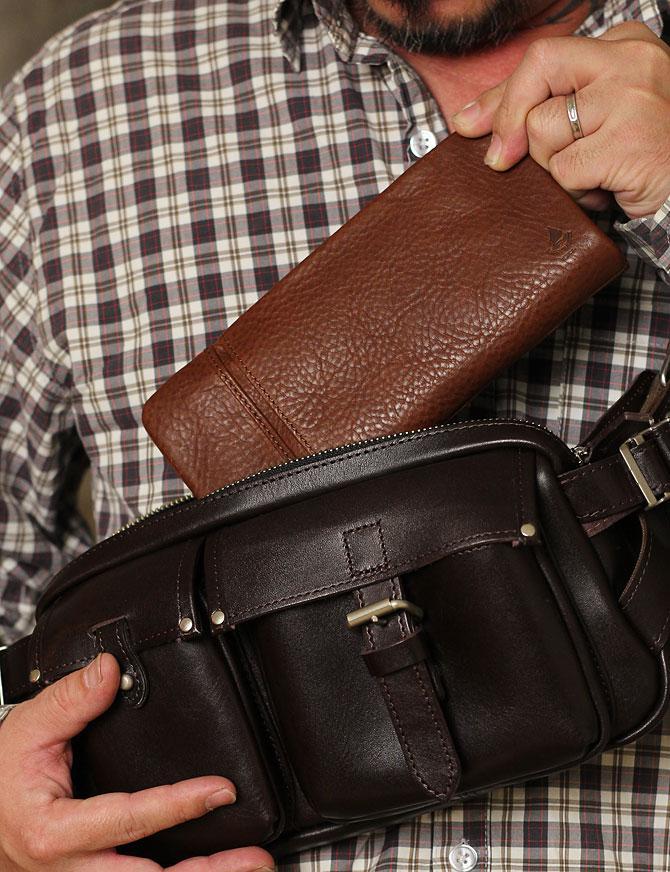 ラウンド財布 メンズ ミネルバボックス バギーポート lzys 8000 モデルイメージ1