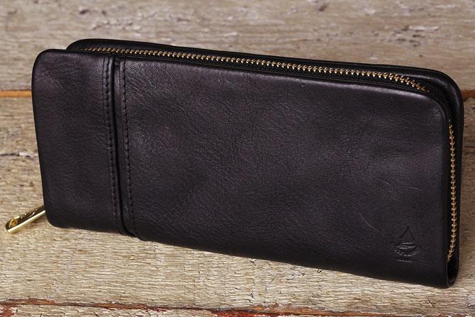 ラウンド財布 メンズ ミネルバボックス バギーポート lzys 8000 ブラック