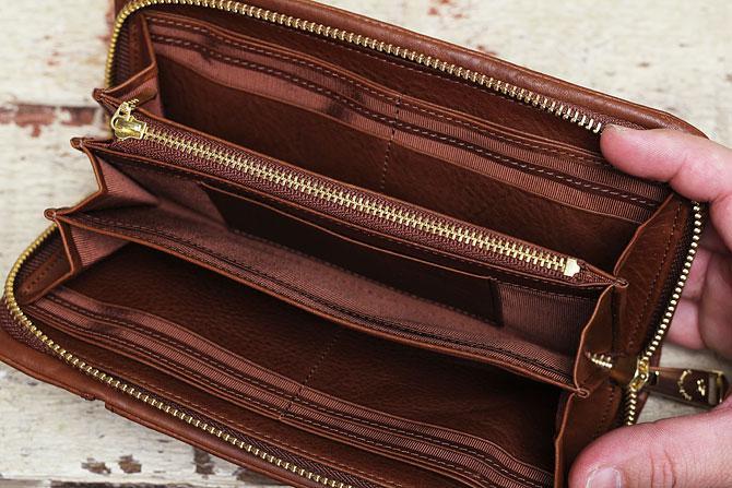ラウンド財布 メンズ ミネルバボックス バギーポート lzys 8000 3層収納